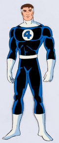 Animation Art:Production Cel, The Fantastic Four Reed Richards Production Cel Group of 5(Marvel Films, 1995).... (Total: 5 )