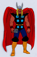 Animation Art:Production Cel, The Fantastic Four Thor Production Cel Group of 2 (MarvelFilms, 1995).. ... (Total: 2 )