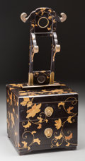 Asian:Japanese, A Japanese Lacquered Cosmetic Box, 19th century. 25-1/2 h x 10-3/4w x 10-7/8 d inches (64.8 x 27.3 x 27.6 cm). ...