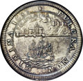 Betts Medals, Betts-64. 1683 Dutch West India Company, Chamber of Groningen andOmmeland. Silver. AU58 PCGS....
