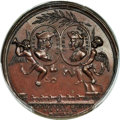 Betts Medals, Betts-381. 1745 Lima Treasure Captured. Bronze. MS62 Brown PCGS....