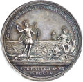 Betts Medals, Betts-392. 1755 Safety at Sea. Silver. MS62 PCGS....