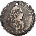 Betts Medals, Betts-345. (1747) Guatemala Proclamation Piece, Silver -- Holed --PCGS Genuine. Fine Details....