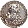 Betts Medals, Betts-443 Variant. (1762) Capture of the Morro Castle Medal, SilverXF45 PCGS....