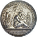 Betts Medals, Betts-429. 1760 Montreal Taken. Silver. AU58 PCGS....
