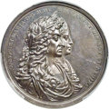 Betts Medals, Betts-67. 1687 Silver Shoals Treasure Recovery. Silver. MS62PCGS....
