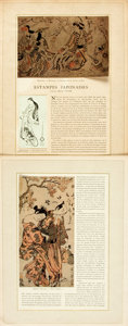 Prints:Contemporary, Group of Thirty-Five Miscellaneous Nineteenth Century Engravings.Circa 1880. Various sizes, the largest matted to an overal...