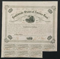 Confederate Notes:Group Lots, Ball 212 Cr. 120 $100 Bond 1863 Very Fine.. ...