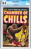 Golden Age (1938-1955):Horror, Chamber of Chills #14 (Harvey, 1952) CGC VF+ 8.5 Cream to off-whitepages....