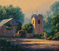 Fine Art - Painting, American:Contemporary   (1950 to present)  , Kenny McKenna (American, b. 1950). Southwestern Mission. Oilon canvas. 26 x 30 inches (66.0 x 76.2 cm). Signed lower ri...