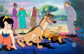Animation Art:Production Cel, All Dogs Go to Heaven Production Cel Setup (Don Bluth,1989)....