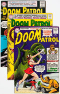 Silver Age (1956-1969):Superhero, Doom Patrol Group of 12 (DC, 1964-66) Condition: Average VF.... (Total: 12 Comic Books)
