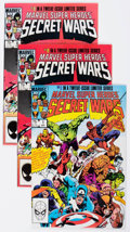 Modern Age (1980-Present):Superhero, Marvel Super Heroes Secret Wars Group of 4 (Marvel, 1984-85)Condition: Average NM-.... (Total: 4 Comic Books)