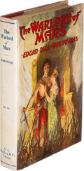 Books:Science Fiction & Fantasy, Edgar Rice Burroughs. The Warlord of Mars. Chicago: A. C. McClurg & Co., 1919. First edition of the third book of th...