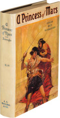 Books:Science Fiction & Fantasy, Edgar Rice Burroughs. A Princess of Mars. Chicago: A. C.McClurg & Co., 1917. First edition of Burroughs's first Mar...