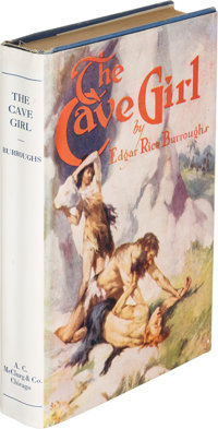 Edgar Rice Burroughs. The Cave Girl. Chicago: A. C. McClurg & Co., 1925. First edition, sign