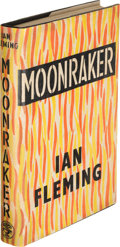 "Books:Mystery & Detective Fiction, [James Bond]. Ian Fleming. Moonraker. London: Jonathan Cape,[1955]. First edition, second state, with ""shoot"" corre..."