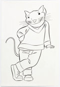 Animation Art:Production Drawing, Stuart Little Storybook Drawings Group of 3 (Columbia,1999)....