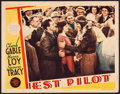 "Movie Posters:Action, Test Pilot (MGM, 1938). Lobby Card (11"" X 14""). Action.. ..."