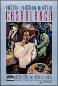 "Movie Posters:Academy Award Winners, Casablanca (Turner Entertainment, R-1992). 50th Anniversary OneSheet (27"" X 40"") SS. Academy Award Winners.. ..."