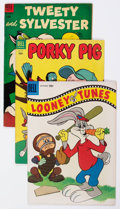Golden Age (1938-1955):Cartoon Character, Looney Tunes and Merrie Melodies Related Comics Group of 49 (Dell,1950s-60s) Condition: Average GD.... (Total: 49 Comic Books)