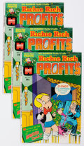 Bronze Age (1970-1979):Cartoon Character, Richie Rich Profits #1 Group of 100 (Harvey, 1974) Condition:Average NM-.... (Total: 100 Comic Books)