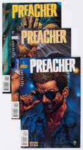 Modern Age (1980-Present):Horror, Preacher Group of 62 (DC, 1995-2003) Condition: Average VF-....(Total: 62 Comic Books)