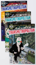 Modern Age (1980-Present):Science Fiction, Transmetropolitan Group of 37 (DC/ Helix, 1997-2000) Condition:Average VF.... (Total: 37 Comic Books)