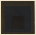 Prints, Josef Albers (American, 1888-1976). Profund, from Homage to the Square. Soft-Edge-Hard-Edge, 1965. Screenprint in co...