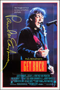 """Movie Posters:Rock and Roll, Paul McCartney: Get Back (New Line, 1991). One Sheet (27"""" X 41"""") SS. Rock and Roll.. ..."""