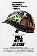 "Movie Posters:War, Full Metal Jacket (Warner Brothers, 1987). One Sheet (27"" X 41"") SSAdvance. War.. ..."