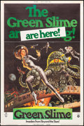 "Movie Posters:Science Fiction, The Green Slime (MGM, 1969). Poster (40"" X 60""). Science Fiction....."