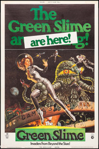 """The Green Slime (MGM, 1969). Poster (40"""" X 60""""). Science Fiction"""