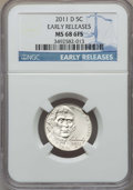 Jefferson Nickels, 2011-D 5C Early Releases MS68 Full Steps NGC. NGC Census: (8/1). PCGS Population: (1/0)....
