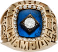Baseball Collectibles:Others, 1986 New York Mets World Series Championship Ring....