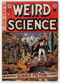 Golden Age (1938-1955):Science Fiction, Weird Science #13 (EC, 1952) Condition: VG/FN....