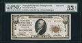 National Bank Notes:Pennsylvania, Schuylkill Haven, PA - $10 1929 Ty. 2 The First NB & TC Ch. # 5216. ...