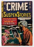 Golden Age (1938-1955):Crime, Crime SuspenStories #1 (EC, 1950) Condition: GD....