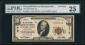 National Bank Notes:Pennsylvania, Schuylkill Haven, PA - $10 1929 Ty. 1 The First NB & TC Ch. # 5216. ...