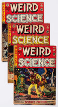 Golden Age (1938-1955):Science Fiction, Weird Science Group of 7 (EC, 1951-53) Condition: Average GD/VG....(Total: 7 Comic Books)