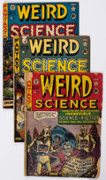 Golden Age (1938-1955):Science Fiction, Weird Science Group of 7 (EC, 1950-53).... (Total: 7 Comic Books)