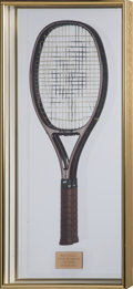Miscellaneous Collectibles:General, 1984 Martina Navratilova French Open Match Used Racquet from TheJudy Nelson Collection....