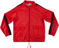 Olympic Collectibles:Autographs, 1976 Olga Korbut Summer Olympics Worn Warmup Jacket from The OlgaKorbut Collection. ...