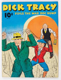 Golden Age (1938-1955):Cartoon Character, Large Feature Comic (Series I) #11 Dick Tracy (Dell, 1940)Condition: FN-....