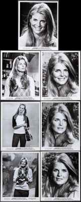 """Candice Bergen in Getting Straight (Columbia, 1970). Portrait Photos (16) (Approx. 8"""" X 10""""). Miscellaneous..."""