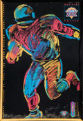 Prints, Peter Max (American, b. 1937). Superbowl XXIX, official poster, 1995. Color poster. 35-1/2 x 23-1/2 inches (90.2 x 59.7 ...
