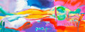 Fine Art - Painting, American:Contemporary   (1950 to present)  , Peter Max (American, b. 1937). Spring, from the FourSeasons series, 2007. Color lithograph with acrylic paintingon...