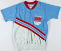 Basketball Collectibles:Uniforms, 1987 Jawann Oldham Sacramento Kings Game Worn Warm Up Uniform....