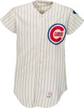 Baseball Collectibles:Uniforms, 1970 Ron Santo Game Worn Chicago Cubs Jersey....