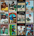 Baseball Cards:Lots, 1969-74 Topps Baseball Stars & HoFers Collection (29)....
